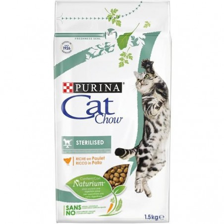 PURINA CAT CHOW Sterilised Karma dla kota 1,5kg