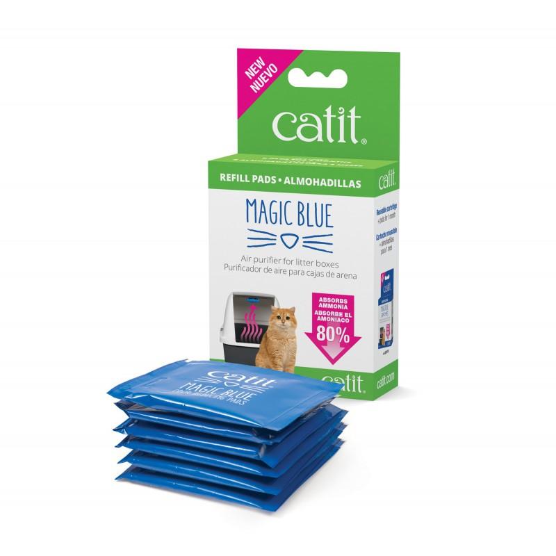 CATIT Zestaw uzupełniający filtra Magic Blue do kuwety dla kota