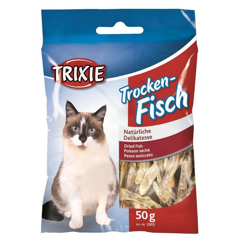 TRIXIE Suszone ryby dla kota 50g