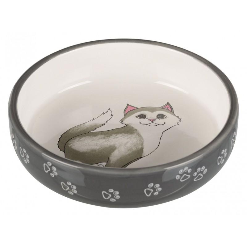 TRIXIE Miska dla kotów krótkonosych 0,3 l