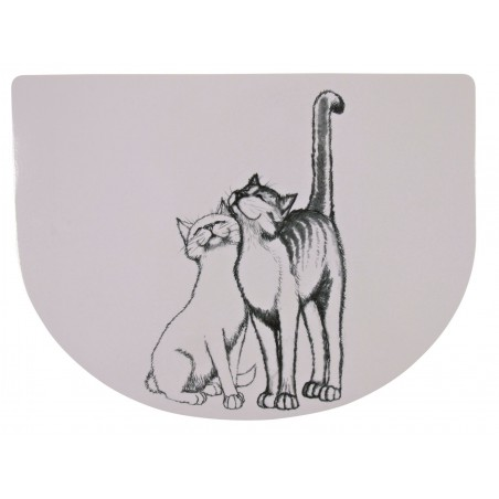 TRIXIE Podkładka pod miskę dla kota Pussy Cat