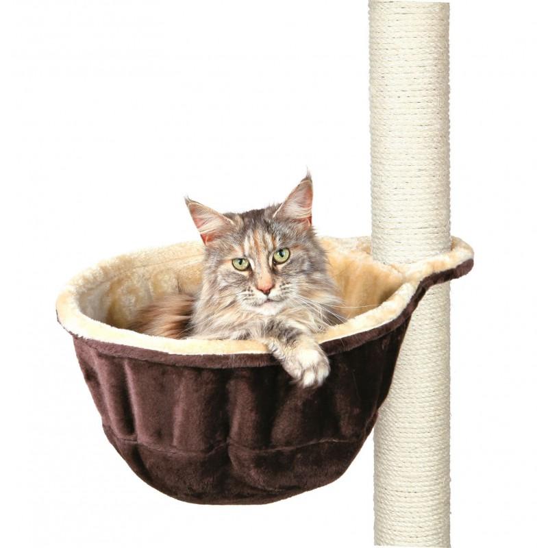 TRIXIE Przytulne legowisko dla kota do drapaków stojących dwustronne