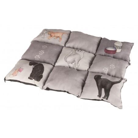 TRIXIE koc dla kota Patchwork Cat 55x45 cm