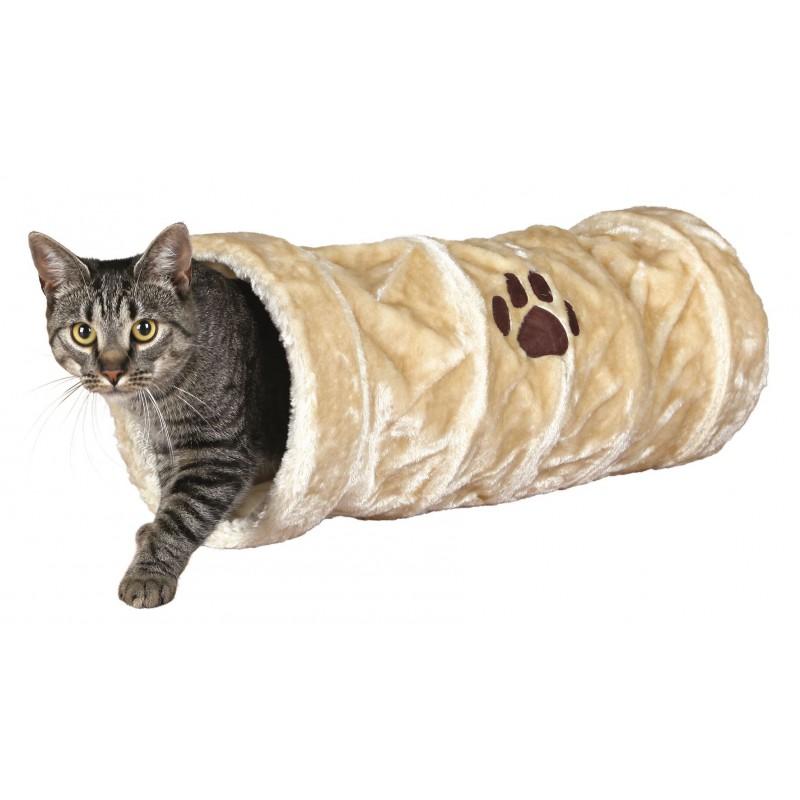 TRIXIE Tunel do zabawy dla kota z pluszu 60cm