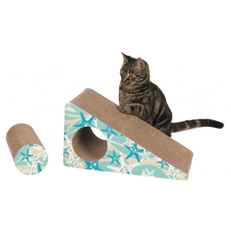 TRIXIE Drapak dla kota z kartonu pomostowy