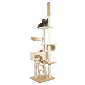 TRIXIE Drapak stojący dla kota Zaragoza podłogowo-sufitowy