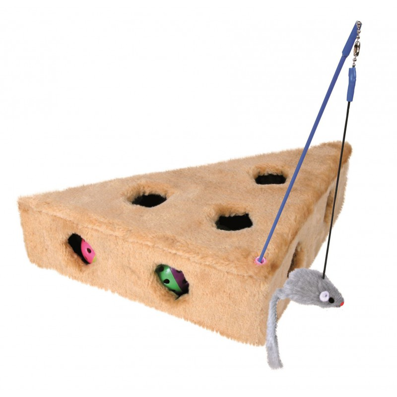 TRIXIE Zabawka dla kota w kształcie sera