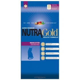 Nutra Gold Holistic Indoor Kitten Cat 3kg Nutra Gold