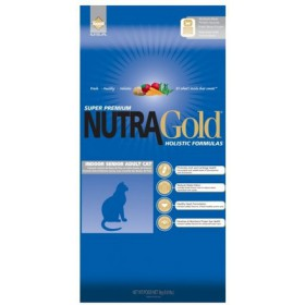 Nutra Gold Holistic Indoor Senior Cat 3kg Nutra Gold