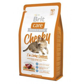 Brit Care Cat New Cheeky I'm Living Outdoor Venison & Chicken 2kg Brit