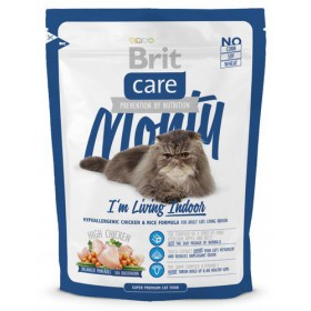 Brit Care Cat New Monty I'm Living Indoor Chicken & Rice 400g Brit