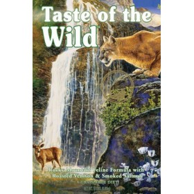 Taste of the Wild Rocky Mountain Feline z dziczyzną i łososiem 7kg Taste of the Wild