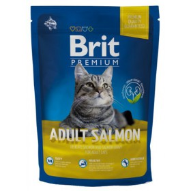 Brit Premium Cat New Adult Salmon 300g Brit