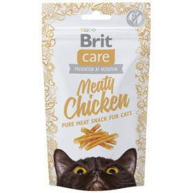 Brit Care Cat Snack Meaty Chicken 50g Brit