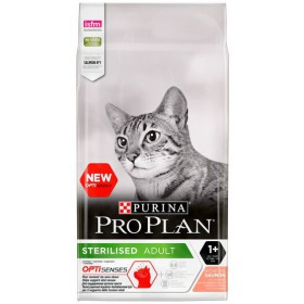 Purina Pro Plan Cat Sterilised Optisenses Salmon 10kg Purina Pro Plan