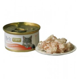 Brit Care Cat Chicken Breast - Pierś Kurczaka puszka 80g Brit