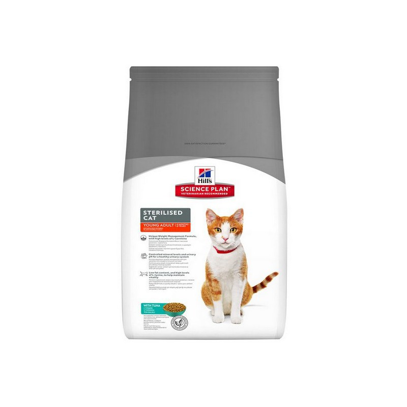 Hill's Feline Young Adult Sterilised Cat Tuna 3,5kg Hill's Science Plan