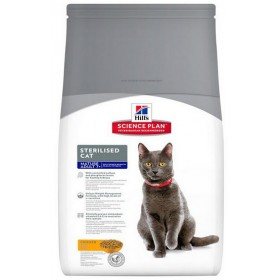 Hill's Feline Mature Adult Senior 7+ Sterilised Chicken 3,5kg Hill's Science Plan