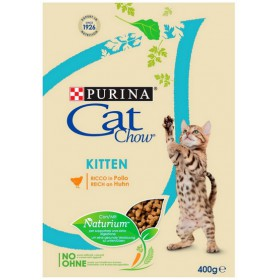 Purina Cat Chow Kitten z Kurczakiem 400g Purina Cat Chow