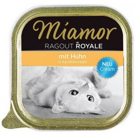 Miamor Ragout Royale Cream Huhn in Karottencream tacka 100g Miamor Ragout Royale