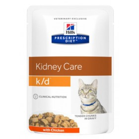 Hill's Prescription Diet k/d Feline Kurczak saszetka 85g Hill's Prescription Diet