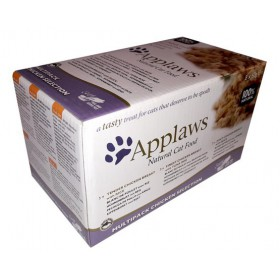 Applaws miseczki dla kota Chicken Selection Multi Pack 8x60g Applaws