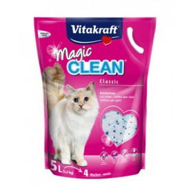 Żwirek Vitakraft Magic Clean silikonowy 5L [15506] Vitakraft