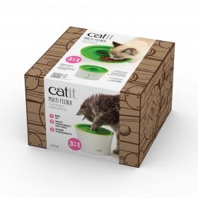 CATIT Miska z pojemnikiem na karmę dla kota Senses 2.0 Multi Feeder