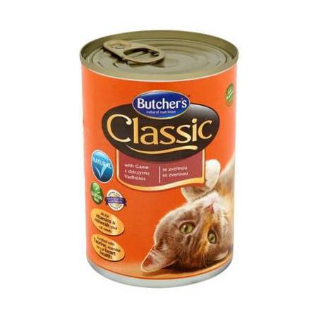BUTCHER'S Classic z dziczyzną - kawałki w galaretce 400g