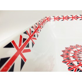 Ceramiczna kuweta dla kota British prostokątna