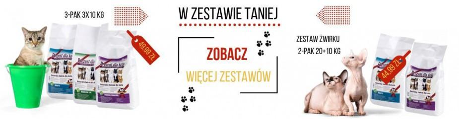 Żwirek kukurydziany dla kota - sklep - prezentdlakota.pl